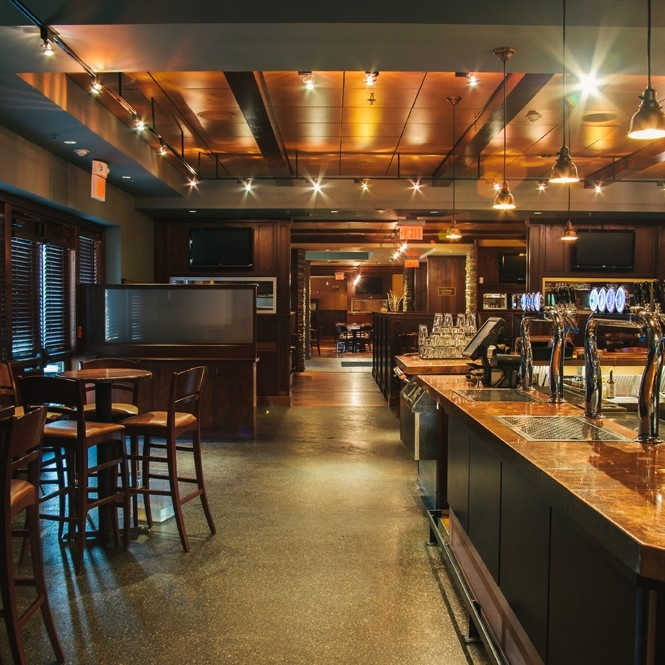Berkeley Heights side bar seating