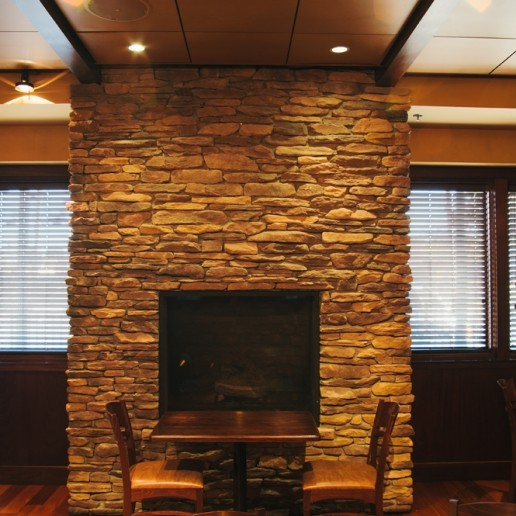 Berkeley Heights fireplace