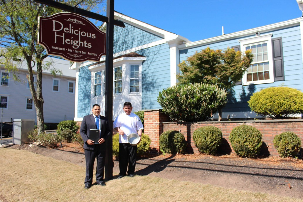 Wally Espinosa - The General Manager / Luis Calderon - The Chef at Delicious Heights Bedminster