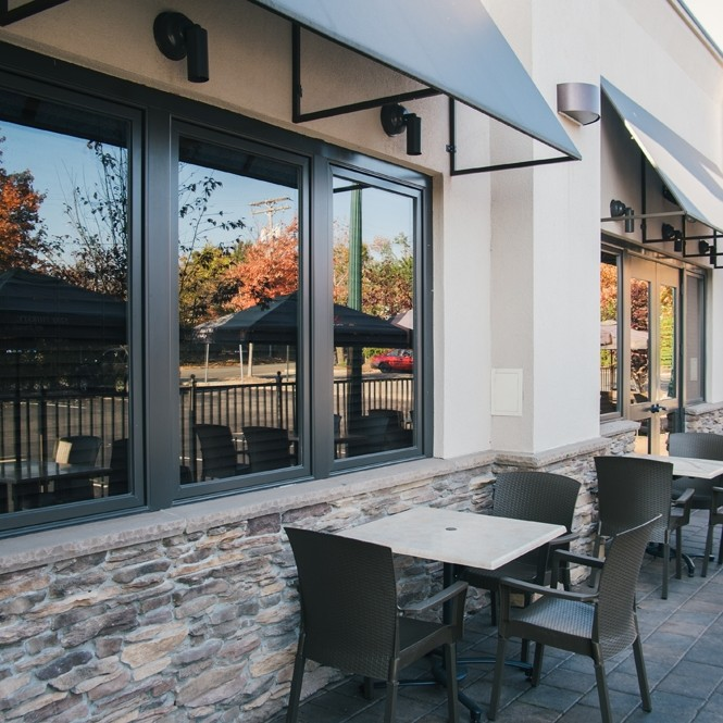 Berkeley Heights outside patio